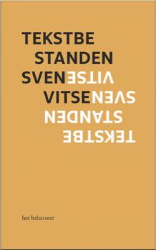 het balanseer / uitgave / Tekstbestanden / Sven Vitse / 2010