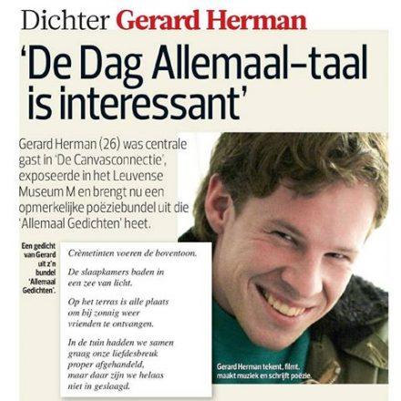 Gerard Herman / Dag Allemaal / het balanseer