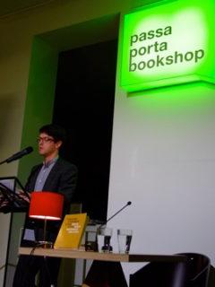 Presentatie Dagboek '68-'69 in Passa Porta ism Het Beschrijf 11/03/2010