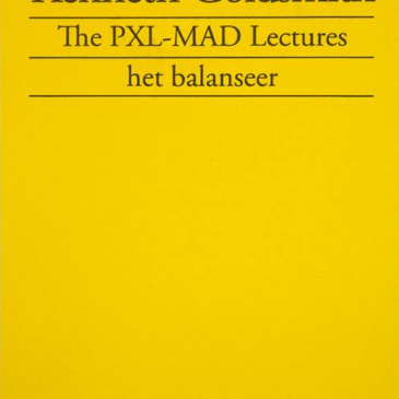 Pas verschenen: The PXL-MAD Lectures by Kenneth Goldsmith