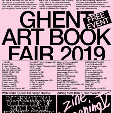 11-12/05: Ghent Art Book Fair